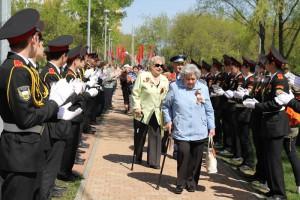 В Нагатинском затоне ветераны увидят парад учеников кадетского корпуса