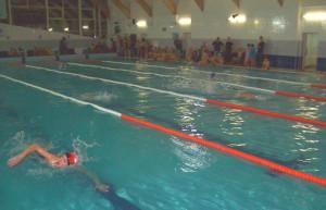 На фото бассейн в ФОКе на Медынской улице в ЮАО