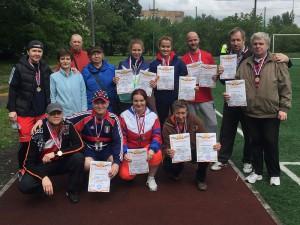 Победителей соревнований наградили дипломами и медалями