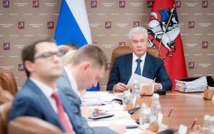 Собянин заключил, что объем инвестиций в строительство в Москве увеличился