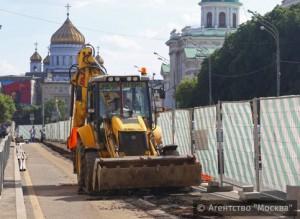 Центральные улицы Москвы благоустроят этим летом