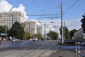 На фото Нагатинская улица