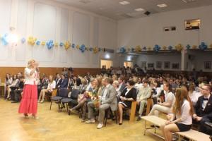 На фото выпускники Нагатино-Садовников