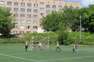 В районе Москворечье-Сабурово появится футбольное поле