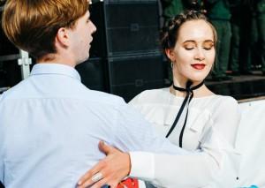 На сцене у фонтанной площади пройдет очередное бесплатное занятие по танцам