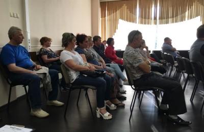 Традиционная встреча главы управы Сергея Фёдорова с жителями прошла в районе Нагатино-Садовники
