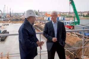 Собянин осмотрел новую станцию метро в ЗАО Москвы