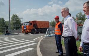 По словам Собянина, в Москве с 2014 по 2017 годы построят 12 путепроводов
