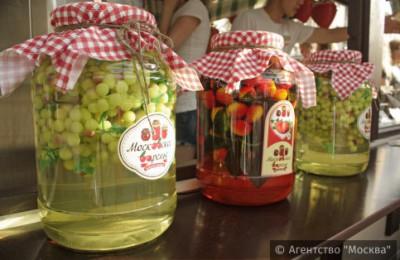 Жители и гости столицы с 15 июля по 7 августа смогут посетить обновленный фестиваль «Московское варенье. Дары природы»