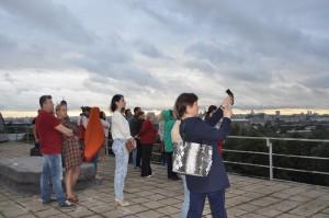 Экскурсию на крыше устроили для посетителей культурного центра ЗИЛ