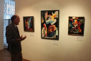 В галерее «На Каширке» открылась выставка французского художника Ги де Монлора
