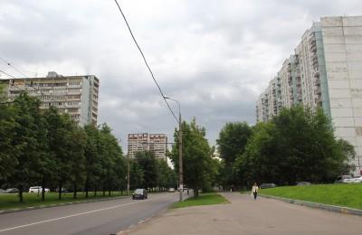 Улица Шипиловская в районе Зябликово