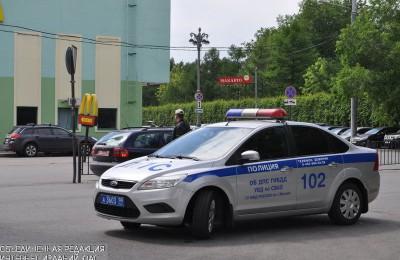 Сотрудники автопатруля задержали подозреваемого в краже