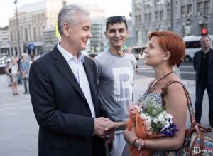 Собянин узнал у жителей Москвы, что они думают о благоустройстве центра города