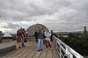 Гости культурного центра смогут насладиться панорамой города