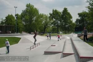 """Скейт-парк в парке """"Садовники"""""""