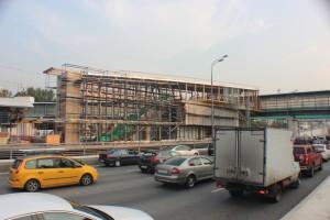 На фото строящийся ТПУ в Южном округе