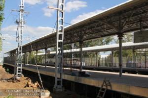 В завершающую стадию вступили работы на будущей станции МЦК 'Верхние котлы'