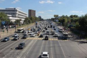 На фото Варшавское шоссе