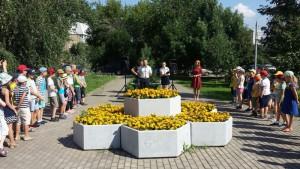 Торжественная линейка новых участников прошла 1 августа