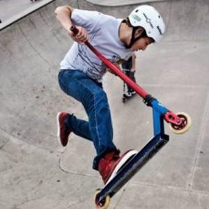 6 августа в скейт-парке пройдет контест по экстремальному катанию на самокате