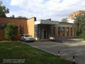 На фото филиал библиотеки №136 в Коломенском проезде