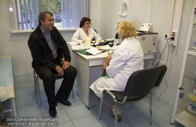 В пяти центрах здоровья Южного округа можно будет получить консультации специалистов