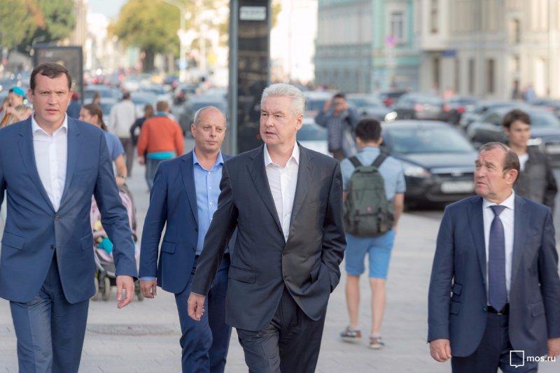 В столице России завершены основные работы поблагоустройству улиц— Собянин