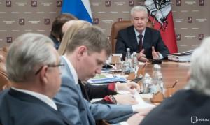О приближающемся фестивале кино Собянин рассказал на заседании президиума правительства Москвы