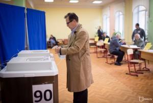 По предварительным данным Мосгоризбиркома, явка на выборы в Москве составила 35,18%