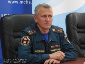 На фото начальник Главного управления МЧС по Москве Андрей Мищенко