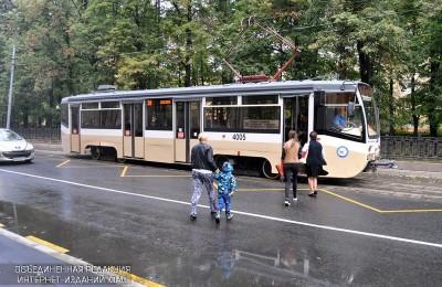 Возобновлено движение трамваев по пяти маршрутам в ЮАО