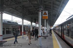 'Площадь Гагарина' и 'Автозаводская' стали одними из самых популярных станций в первые дни работы МЦК