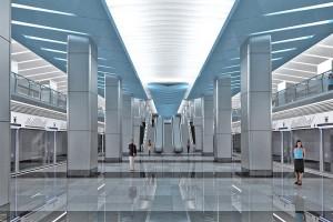 Станция 'Деловой центр'