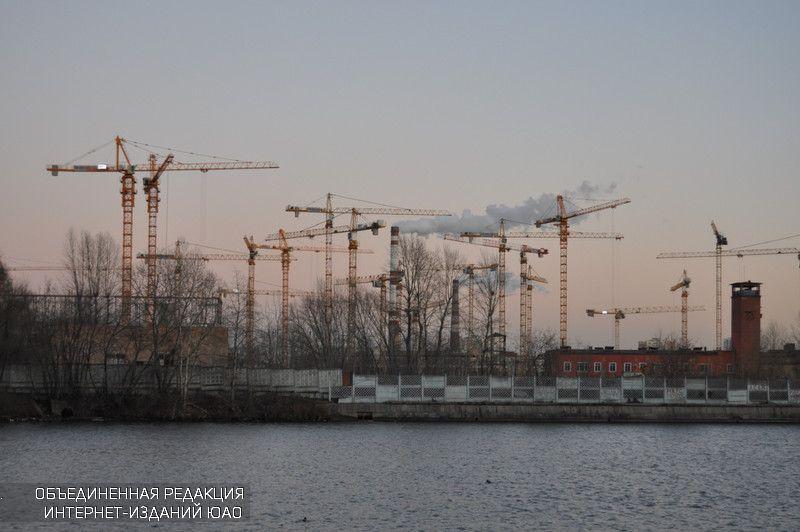Плавучий бассейн оборудуют наМоскве-реке врайоне ЗИЛа