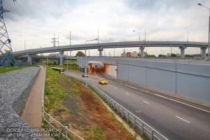 В столице на пересечениях МКАД с основными вылетными магистралями появится новая архитектурная подсветка