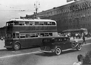 В середине прошлого века троллейбус стал одним из основных видов наземного транспорта