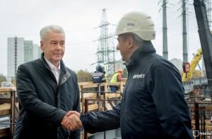 По словам мэра Москвы Сергея Собянина, новый участок Северо-Восточной хорды свяжет трассу М11 с Дмитровским шоссе