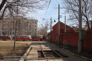 Реконструкцию трамвайных путей завершили в Южном округе