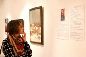 У тех, кто не успел посетить выставку известного российского графика Александра Печатнова, есть последняя возможность увидеть картины художника