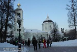 На фото парк 'Царицыно'