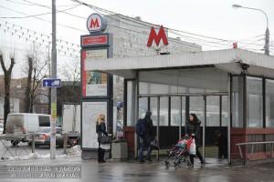 На фото вестибюль станции 'Коломенская' Замоскворецкой линии метро