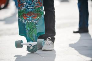 Сезон катания на роликовых коньках и скейтбордах подошел к концу.