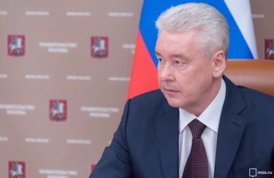 "Сергей Собянин посетил завод ""Авангард"""