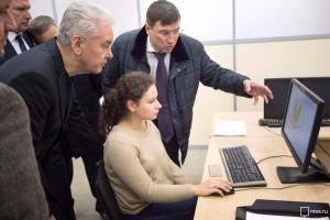 Собянин посетил технопарк «Калибр»