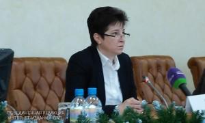 На фото заместитель руководителя Департамента труда и социальной защиты населения Москвы Татьяна Полякова