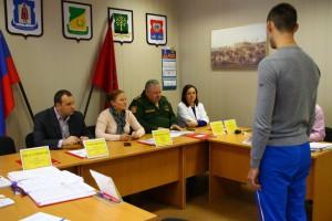 9 ноября прошло очередное заседание призывной комиссии района Нагатино-Садовники
