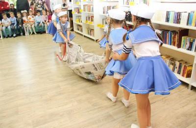 На празднике взрослых и детей ждали разные конкурсы и подвижные игры