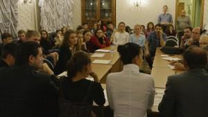 Члены философского клуба «Суть времени» на одной из встреч