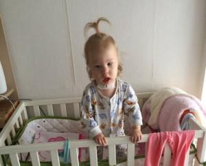 На фото девочка Есения из города Лобня
